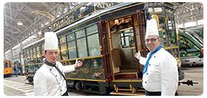 tour jantar e passeio turistico em bonde restaurante por Milão
