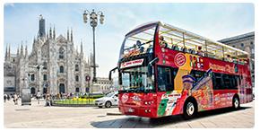 Tour de Milão com Ônibus panorâmico