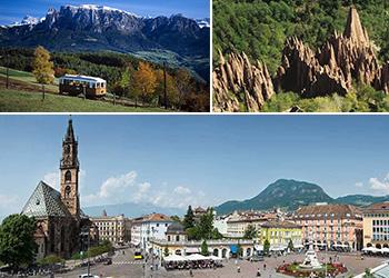 Tour Excursão Bate volta Milão Montanhas Dolomitas património mundial da UNESCO e Bolzano
