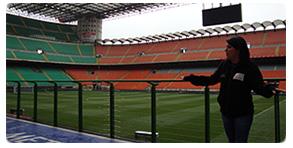 Tour Estadio Ac Milão Inter de Milão Fc internazionale