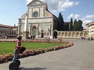 Tour panoramico em segway por Florença Itália