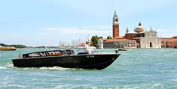 Transferências de lancha privada do aeroporto de Veneza Marco Polo ao centro centro de Veneza ou Lido