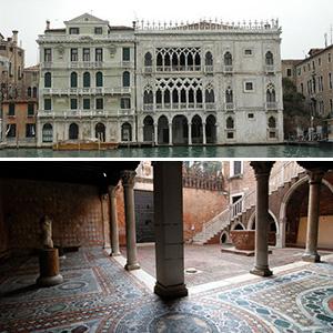 Visitas Guiadas na Galeria do palácio Ca' D'oro em Veneza
