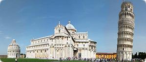 excursão para Pisa de Florença a torre de Pisa