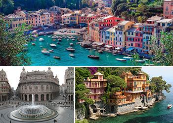 tour excursão Bate volta Milão a Genova passeio barco Portofino