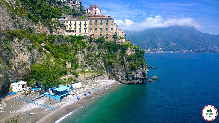 De Nápoles a Costa Amalfitana e Sorrentina na Itália