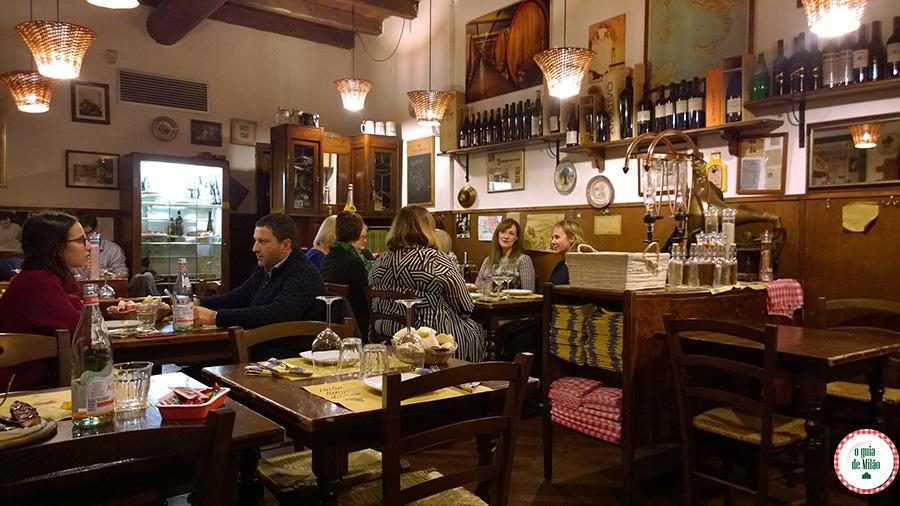 Dica de restaurante em Milão