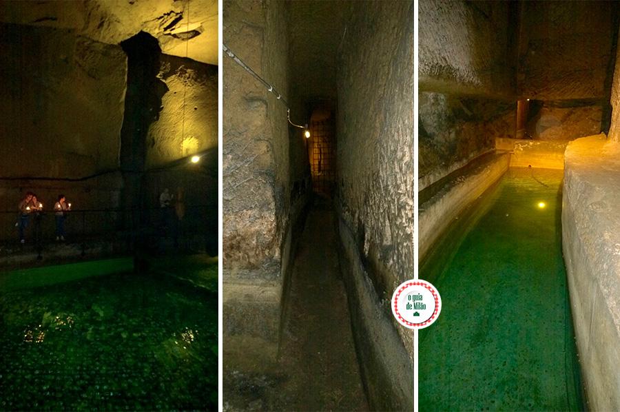 Nápoles subterrânea na Itália
