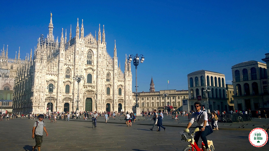 O que ver em Milão a Catedral de Milão