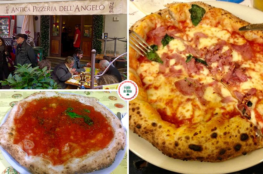 dicas de pizzarias em nápoles onde comer as melhores pizza em Nápoles