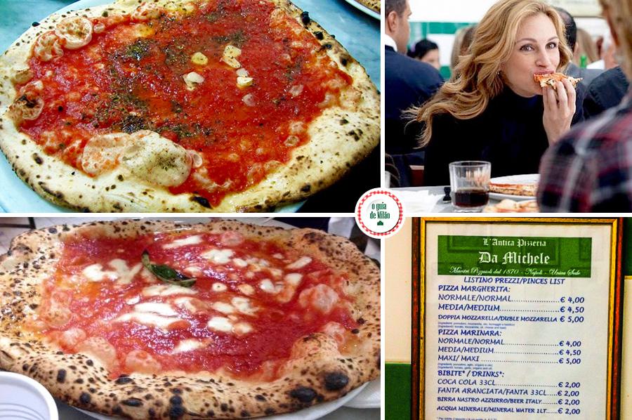 Pizzaria do filme Comer rezar amar em Nápoles Itália Julia Roberts
