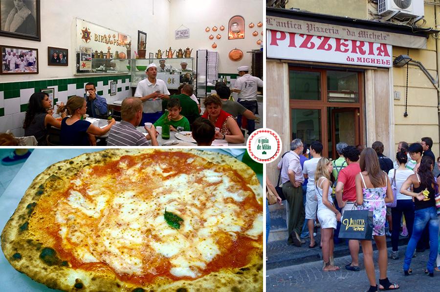 Pizzaria do filme Comer rezar amar em Nápoles Itália