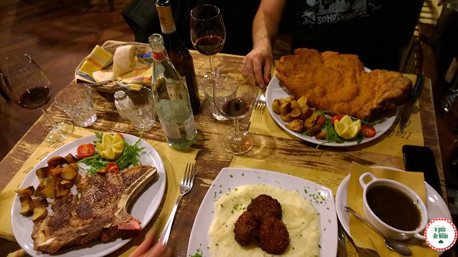 Restaurante em Milão Comidas típicas da Itália