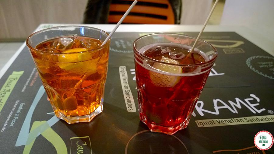 Coquetéis-típicos de Milão