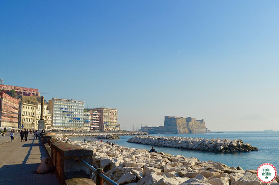 Turismo em Nápoles Itália pontos turistico de Nápoles