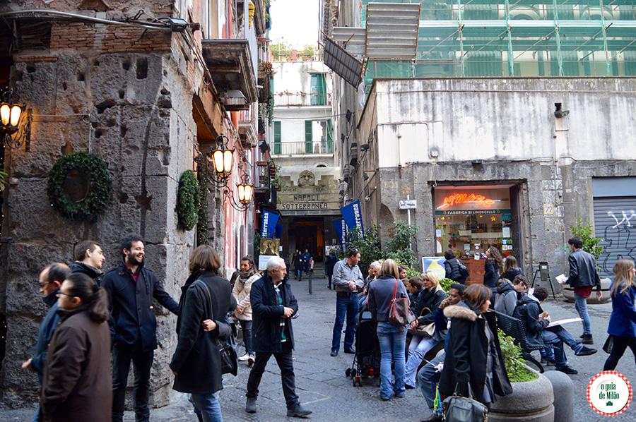 o que fazer em Nápoles Subterrânea