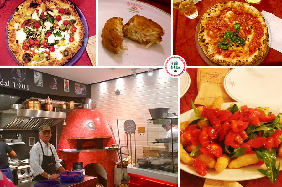 melhores pizzarias de Nápoles Itália