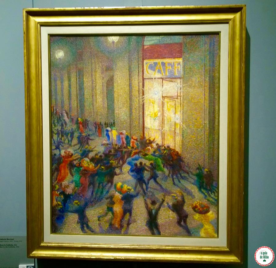 Arte em Milão no Museu do Novecento Milão