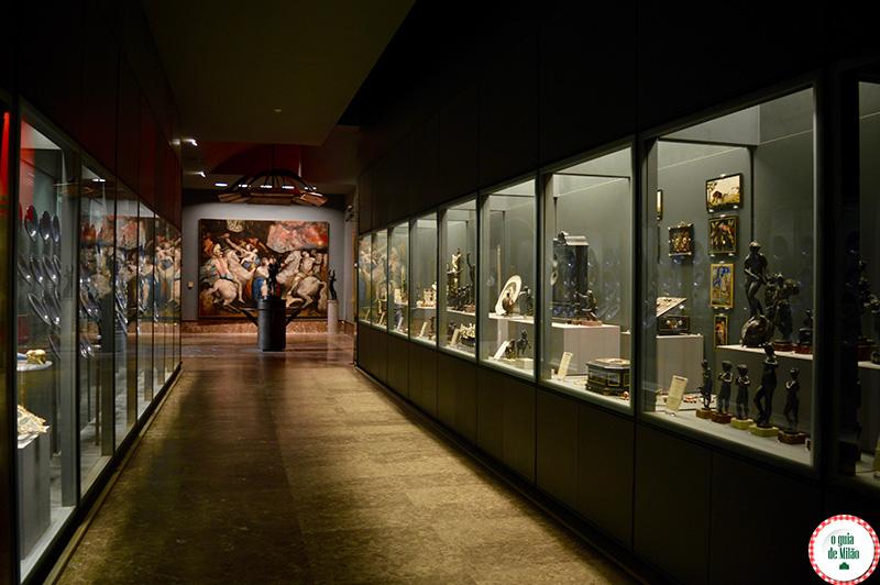 Arte em Nápoles no museu Capodimonte em Nápoles Itália