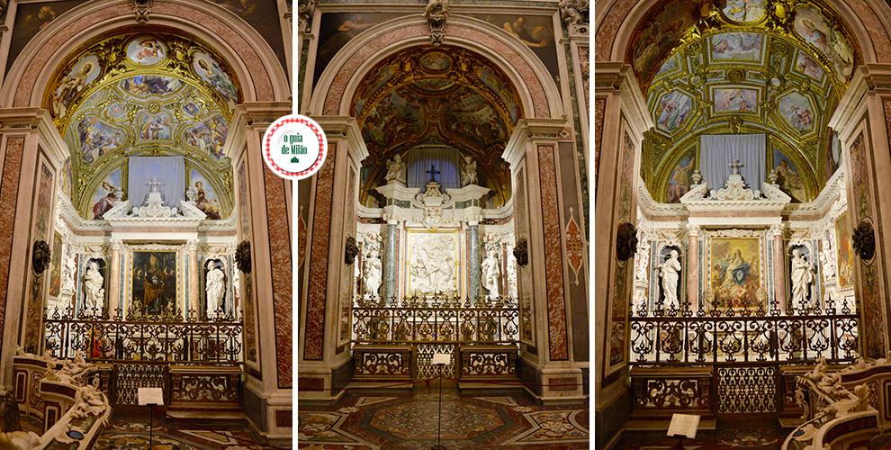 As principais igrejas de Nápoles na Itália