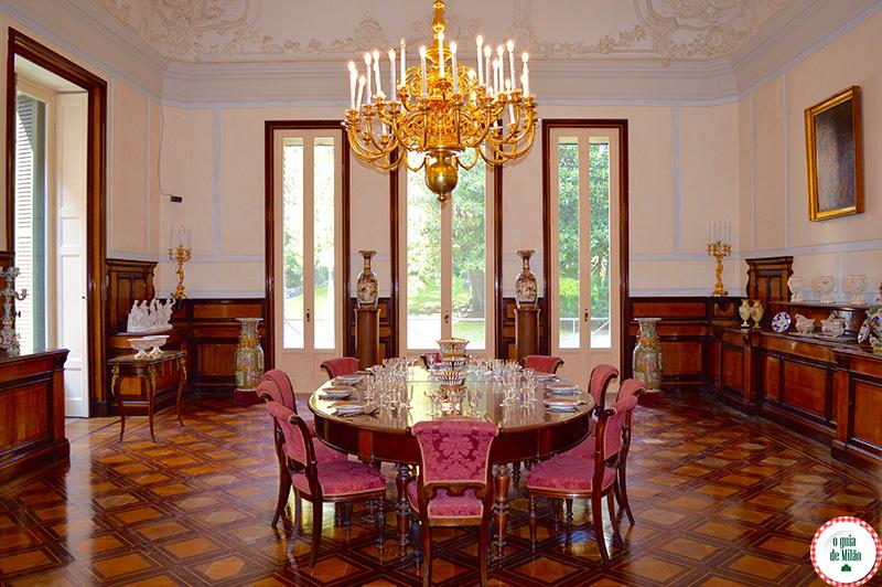 Casa museu Pignatelli em Nápoles Itália