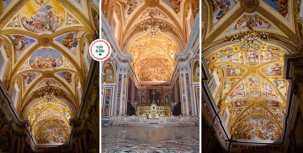 Igreja em Nápoles Itália