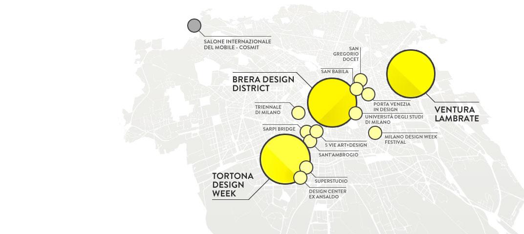 O salão do móvel e o fuorisalone em Milão