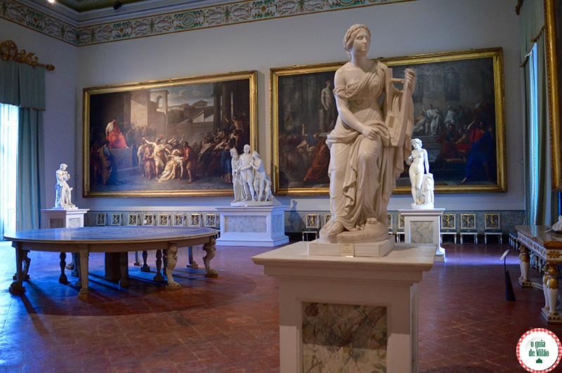 Obras de arte em Nápoles o que ver
