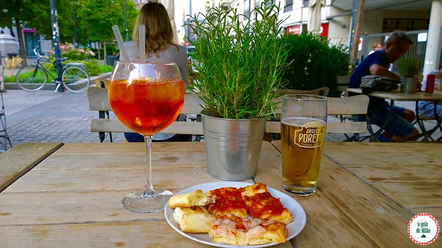 Padarias em Milão Onde comer barato em Milão