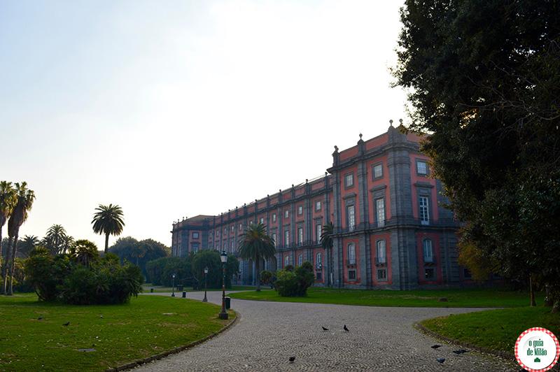 Museu em Nápoles Itália
