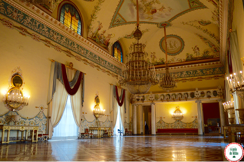 Pontos de interesse turístico em Nápoles