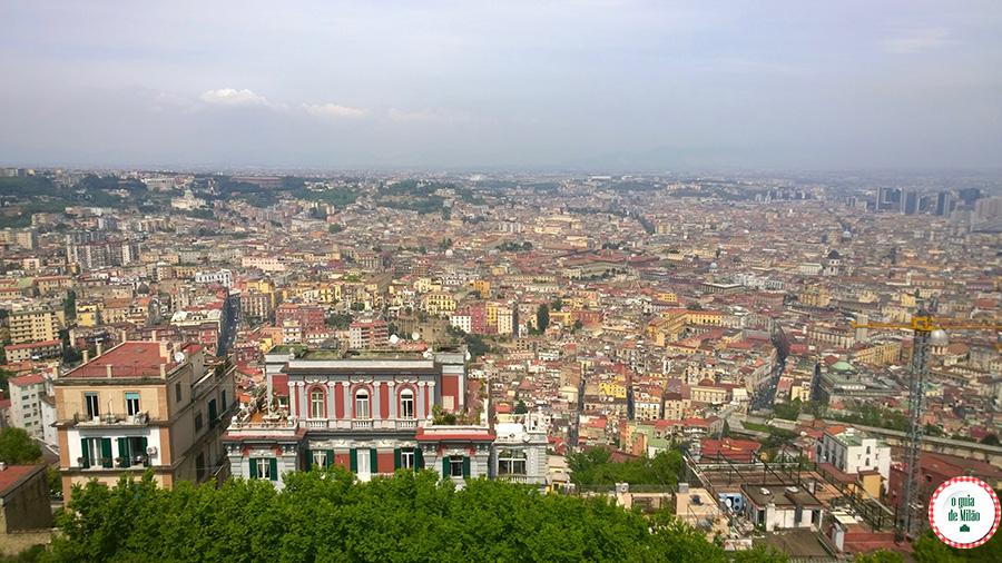 Pontos turísticos de Nápoles Itália