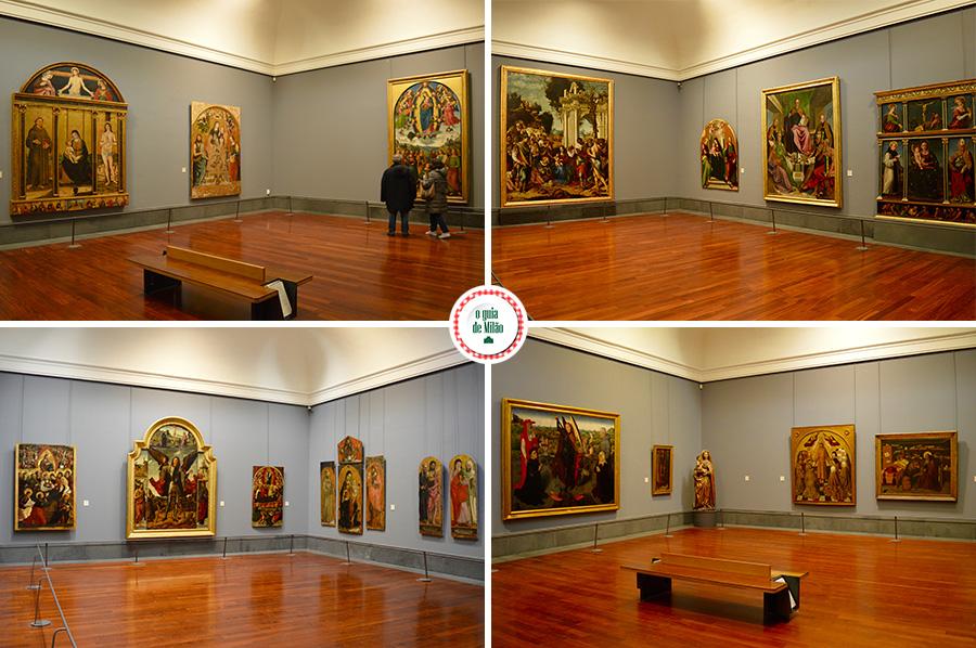 Turismo em Nápoles Itália O museu Capodimonte em Nápoles