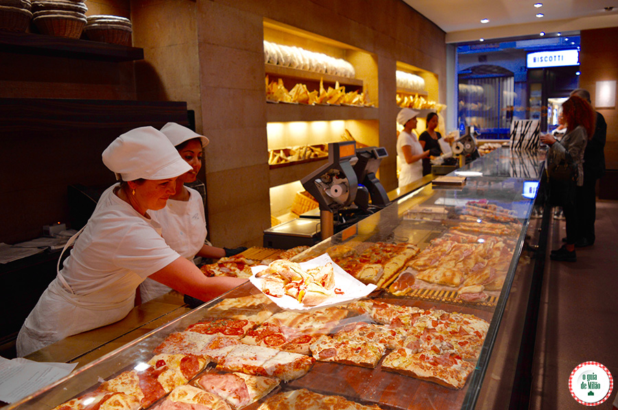 Dicas de padarias em Milão onde comer a comida tipica da Itália em Milão