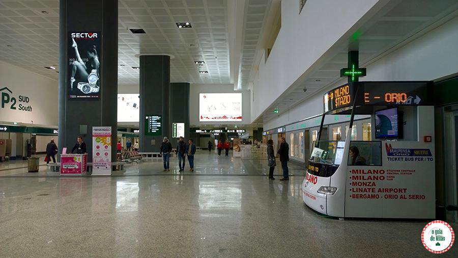 Como ir do aeroporto Malpensa ao centro de Milão