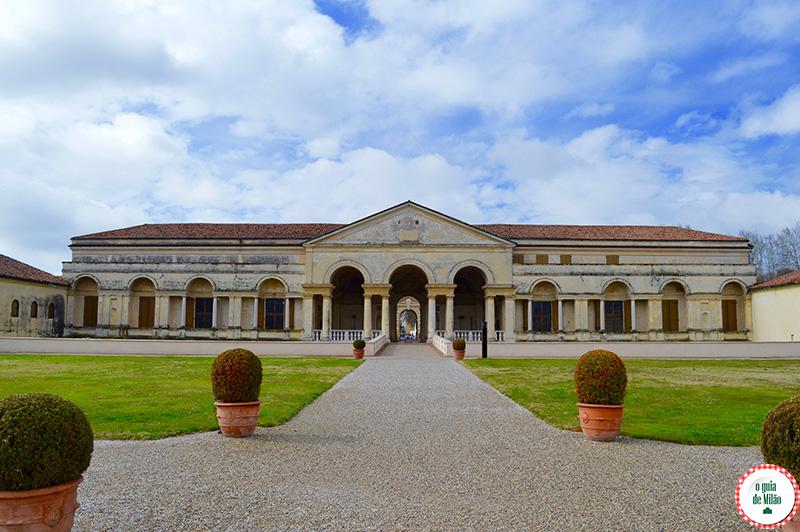O palácio Te em Mântua Itália