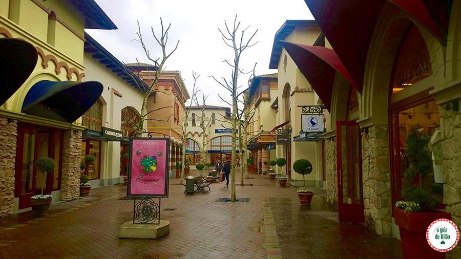 Outlet em Parma Fidenza Village Itália