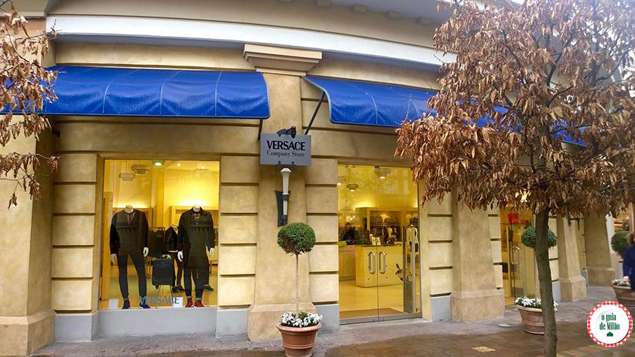 Outlet em Parma Itália