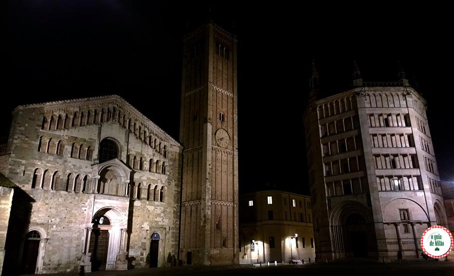 Pontos turísticos Parma Itália