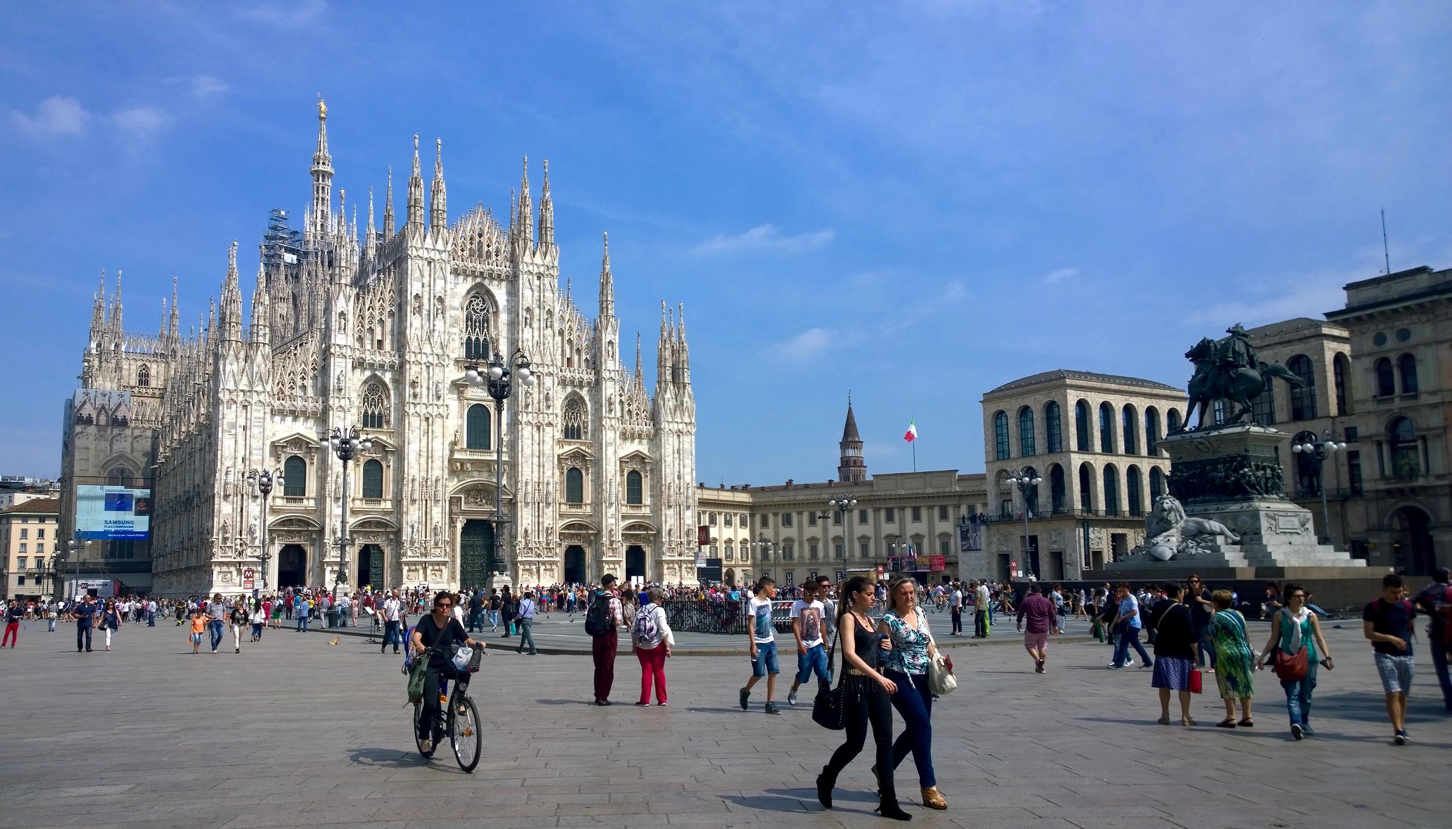 Primavera em Milão Temperatura em Milão Clima em Milão