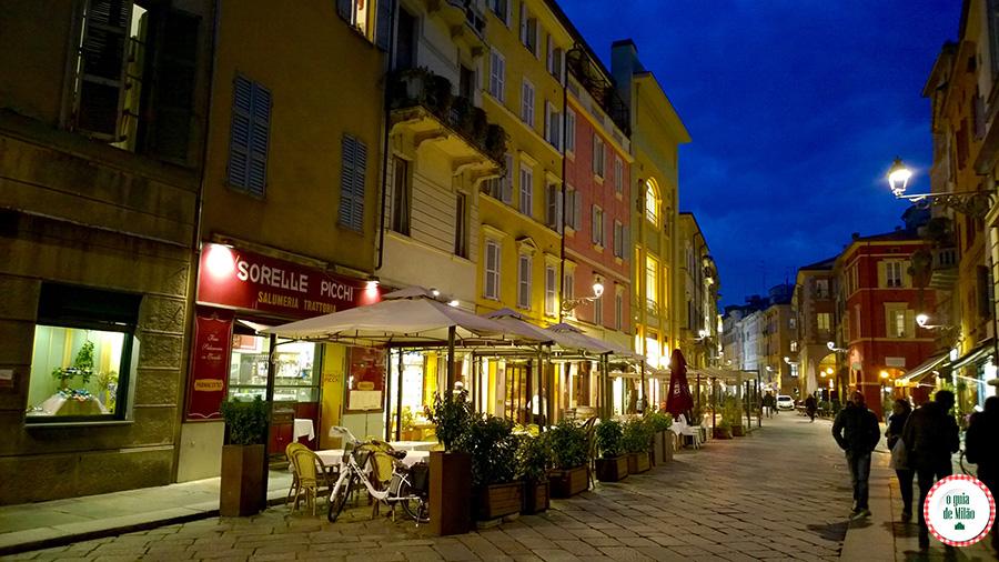 Turismo em Parma Itália