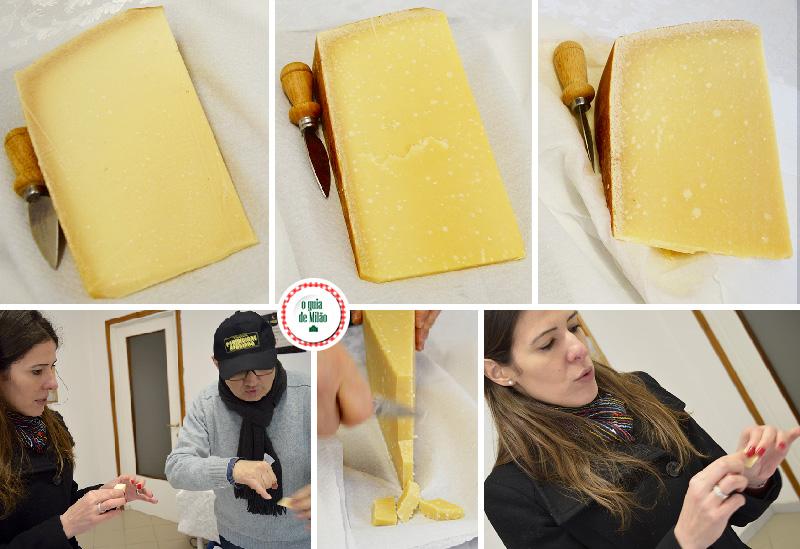 Visitar queijarias em Parma Itália como é feito o parmesão parmigiano