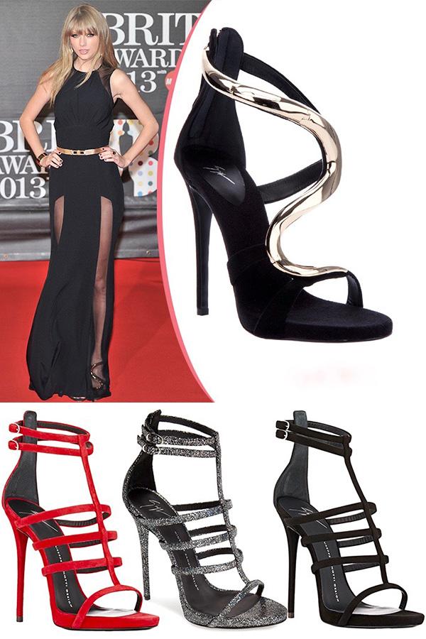 As marcas de sapatos italianos das celebridades Giuseppe Zanotti