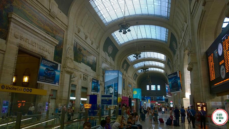 Estação central de Trens de Milão