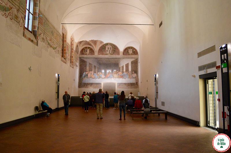 Museu A Última Ceia Leonardo da Vinci em Milão