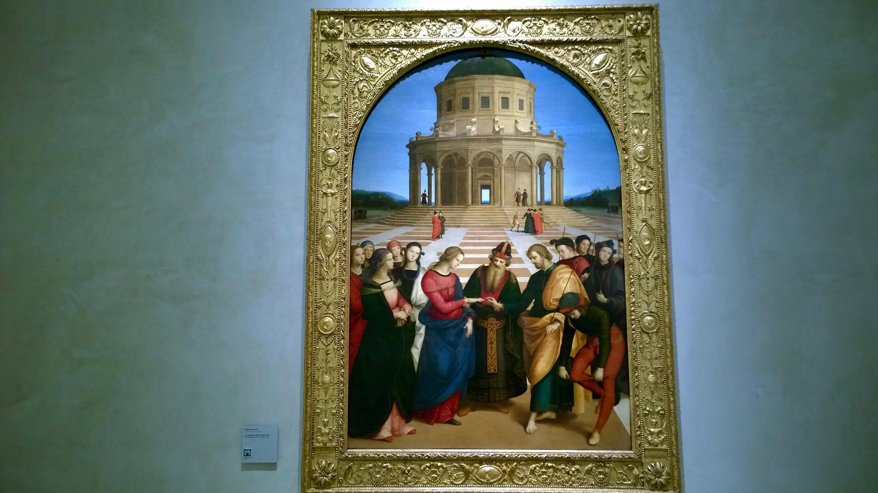 Museus em Milão Pinacoteca de Brera em Milão Rafael