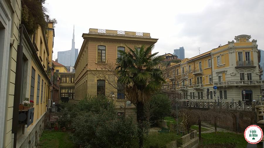 O que fazer em Milão durante uma conexão no Bairro Porta Nuova