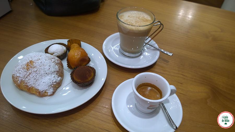 Onde tomar café da manhã em Milão Pastelaria Pasticceria Martesana