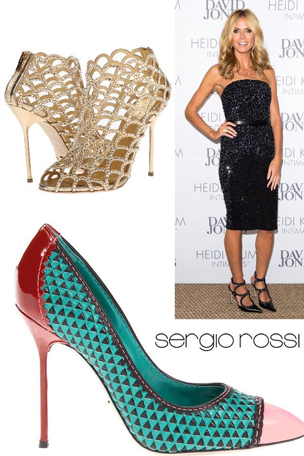 Os melhores sapatos italianos artesanais Sergio Rossi