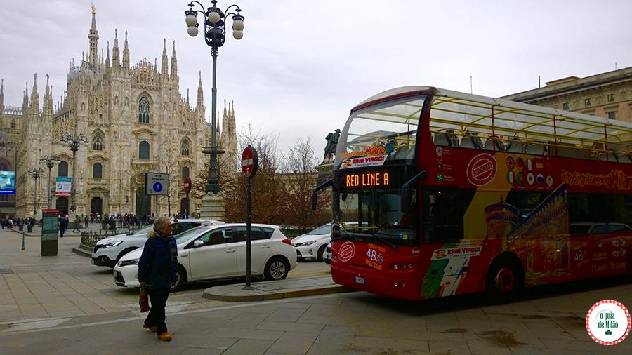 City Sightseeing Milão: o ônibus turístico de Milão